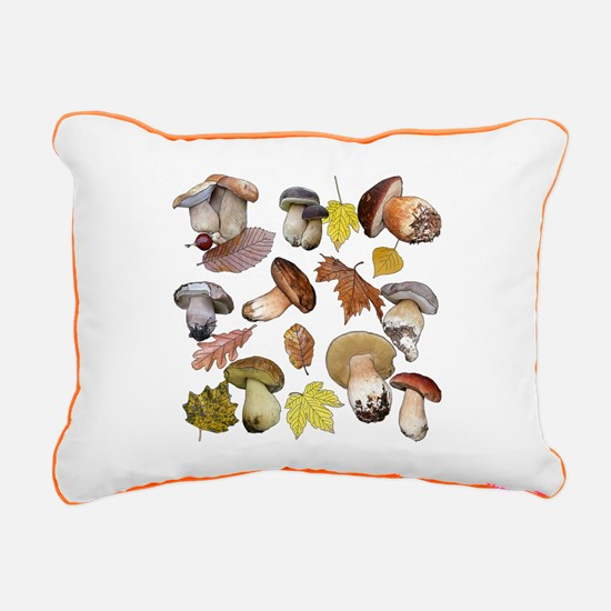 Boletus Rectangular Canvas Pillow