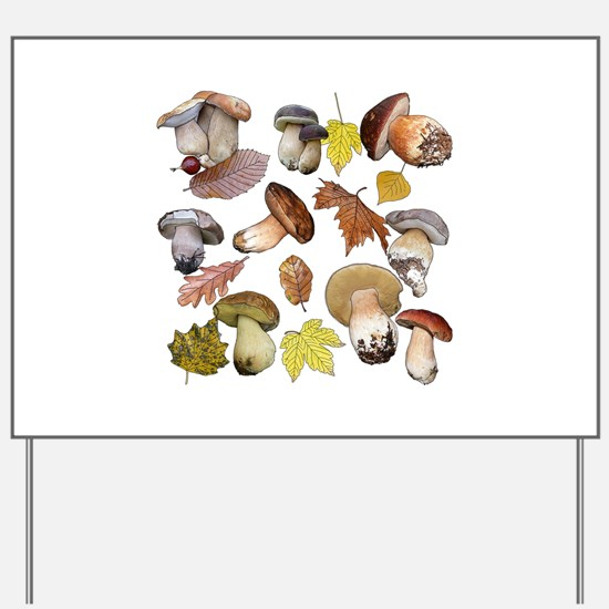 Boletus Yard Sign
