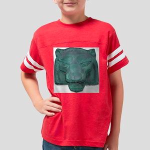 Copper Lion Head Deco Youth Football Shirt