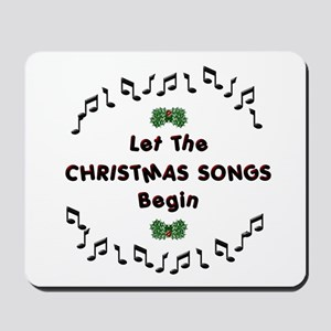 Christmas Songs Mousepad