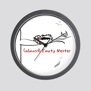 Almost Empty Nester Wall Clock