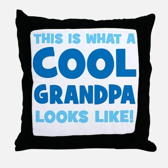 WhatCoolGrandpaLooksLike copy Throw Pillow