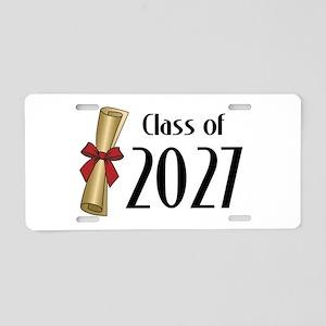 Class of 2027 Diploma Aluminum License Plate
