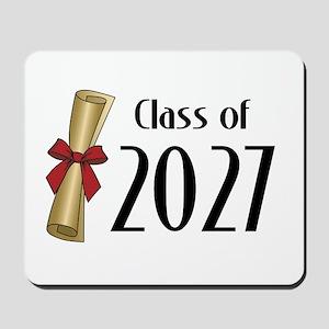 Class of 2027 Diploma Mousepad