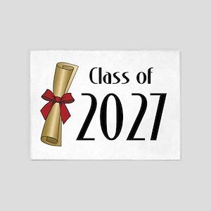 Class of 2027 Diploma 5'x7'Area Rug