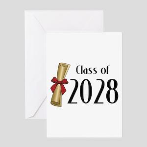 Class of 2028 Diploma Greeting Card