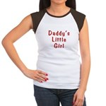Daddy's Little Girl Women's Cap Sleeve T-Shirt