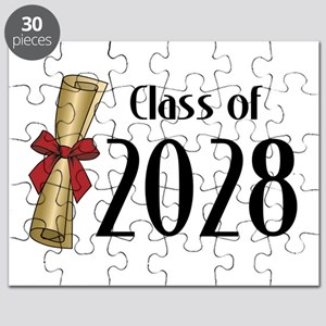 Class of 2028 Diploma Puzzle