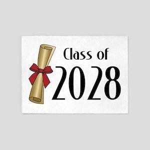 Class of 2028 Diploma 5'x7'Area Rug