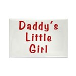 Daddy's Little Girl Rectangle Magnet (100 pack)