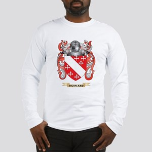 Howard Coat of Arms (Family Crest) Long Sleeve T-S