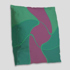 Greenmania Burlap Throw Pillow