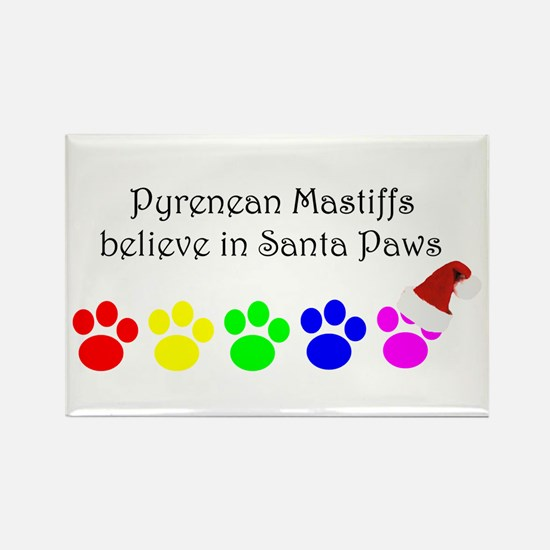 Pyrenean Mastiffs Believe Rectangle Magnet