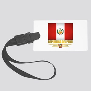 Flag of Peru Luggage Tag