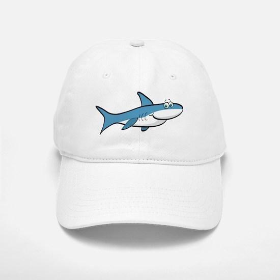 Shark Cartoon Baseball Baseball Cap