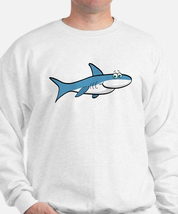 Shark Cartoon Sweatshirt