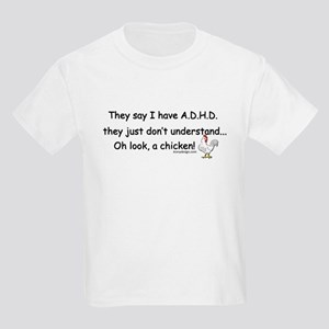 ADHD Chicken Kids Light T-Shirt