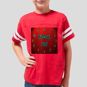 clock 5 Youth Football Shirt