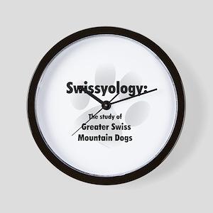 Swissyology Wall Clock