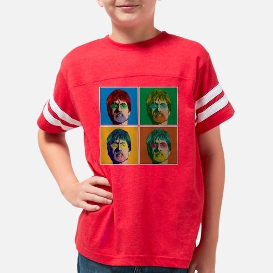Bachan-popart-4up Youth Football Shirt