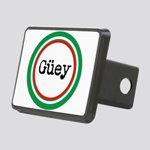 Mexican Spanish Slang Rectangular Hitch Cover