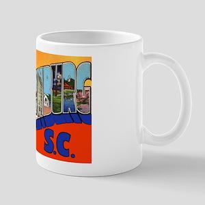 Spartanburg South Carolina Greetings Mug