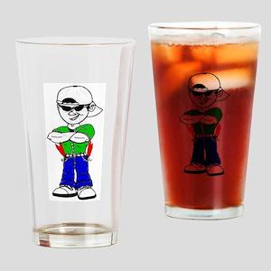 Pocket Rockets Drinking Glass