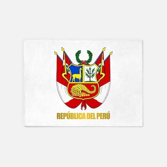 Peru COA 5'x7'Area Rug