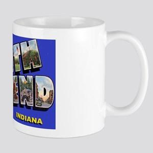 South Bend Indiana Greetings Mug
