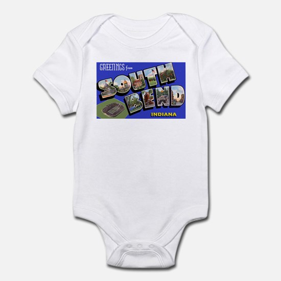 South Bend Indiana Greetings Infant Bodysuit