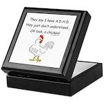 ADHD Chicken Keepsake Box