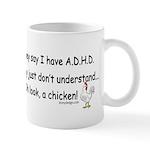ADHD Chicken Mug
