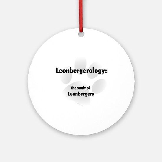 Leonbergerology Ornament (Round)