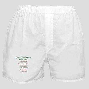 Three Wise Women Boxer Shorts