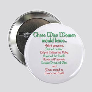 Three Wise Women Button