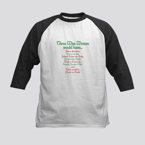 Three Wise Women Kids Baseball Jersey