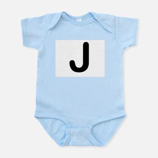 Letter J Body Suit