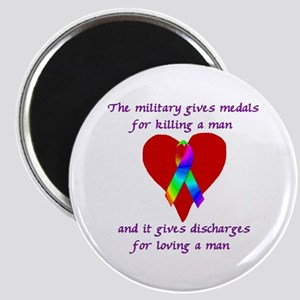 Gay Military Magnet