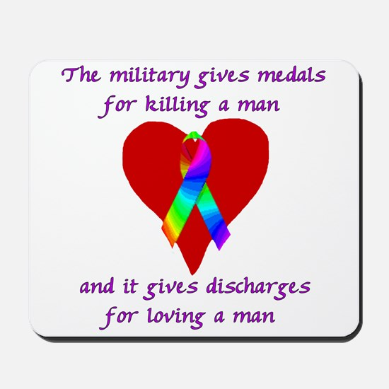 Gay Military Mousepad