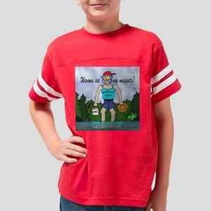 Gold Panner - Nugget Man Youth Football Shirt