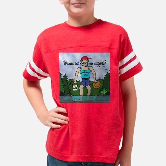 Gold Panner - Nugget Man Youth Football Shirt