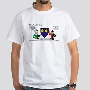 Heraldrydiculous White T-Shirt