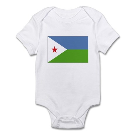 Djibouti Infant Bodysuit
