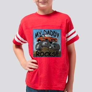 Daddy_Bronco_Red Youth Football Shirt