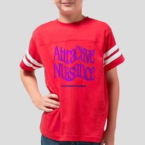 AttractiveNuisance Youth Football Shirt