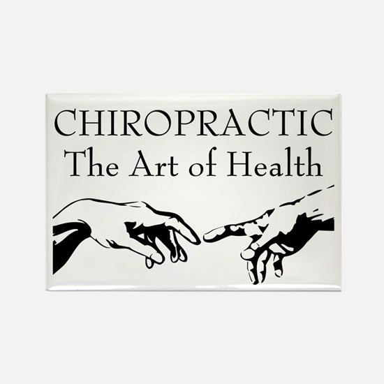 The Art of Health Rectangle Magnet