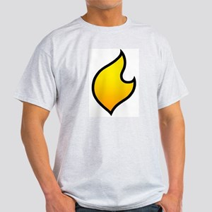 The Flare's Costume Logo! (on Ash Grey T-Shirt
