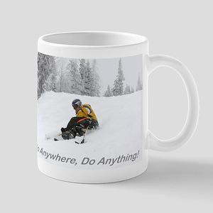 Large Mug with PowderSkier Mugs
