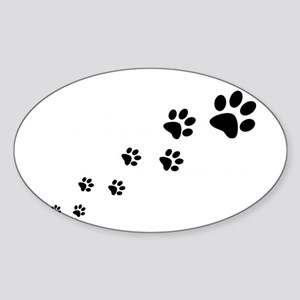 Paw Prints Sticker