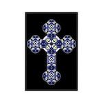 Bluebonnet Cross Rectangle Magnet (100 pack)